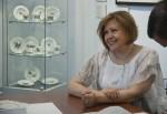Супруга писателя Дмитрия Володихина -- Ирина Станкова