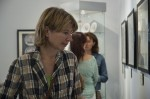 Гость выставки Юлия Салтыкова