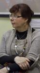 Гость выставки художник-график Татьяна Борисова (мать художника Михаила М. Тренихина)