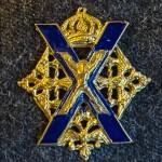Нагрудный знак 154-ого отдельного комендантского Преображенского полка. Фото Андрея Лобанова