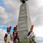 Французы у памятника 50х70