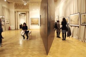 Выставка «Московское метро – подземный памятник архитектуры». Фото пресс-службы Музея Архитектуры