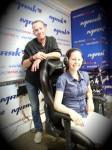 Анна Федорец на радио «Маяк» в передаче «Кафедра» с ведущим Игорем Ружейниковым