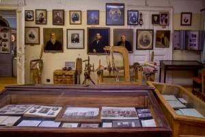 Экспозиция музея предпринимателей, меценатов и благотворителей
